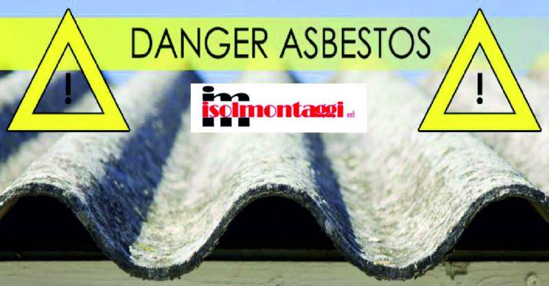 Isolmontaggi offerta Amianto - promozione smaltimento materiali pericolosi Teramo