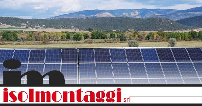 ISOLMONTAGGI SRL - offerta posa impianti fotovoltaici ascoli piceno