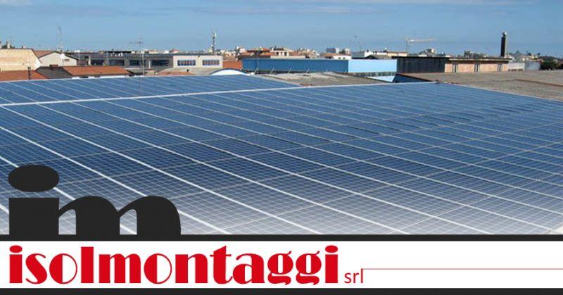 ISOLMONTAGGI SRL - offerta posa impianti fotovoltaici teramo