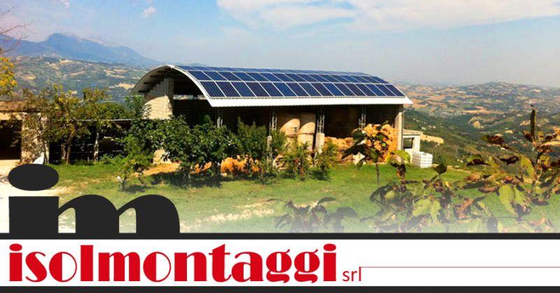 ISOLMONTAGGI SRL - installazione pannelli fotovoltaici ascoli piceno
