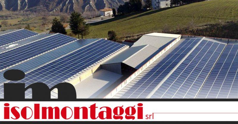 ISOLMONTAGGI SRL - offerta incentivi installazione fotovoltaico teramo