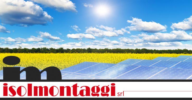 ISOLMONTAGGI - offerta installazione pannelli fotovoltaici teramo