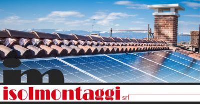 isolmontaggi srl offerta incentivi installazione fotovoltaico ascoli piceno