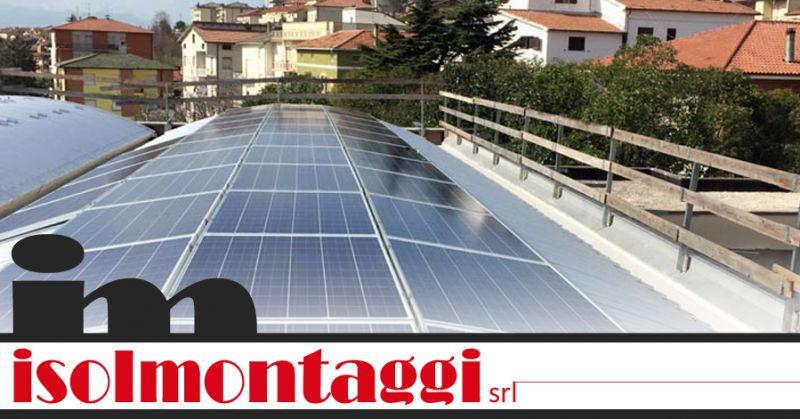 ISOLMONTAGGI SRL - offerta incentivi installazione fotovoltaico pescara