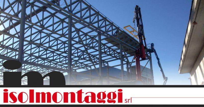 ISOLMONTAGGI SRL - offerta strutture metalliche per fabbricati Teramo