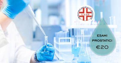 laao laboratorio analisi abbasanta offerta check up esami prostatici