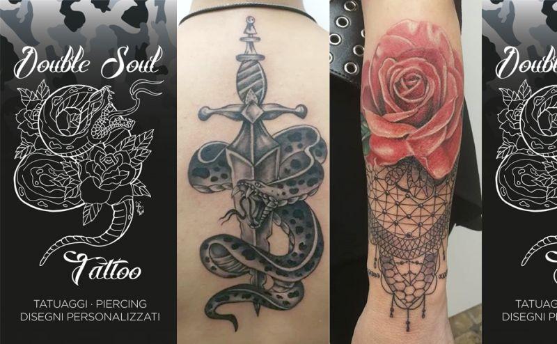 Offerta Tatuaggi personalizzati Piercing Ancona - Offerta Tatuaggi Realistici 3D Ancona