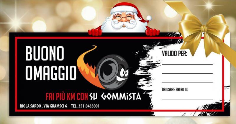 offerta buono regalo per Natale SU GOMMISTA RIOLA SARDO