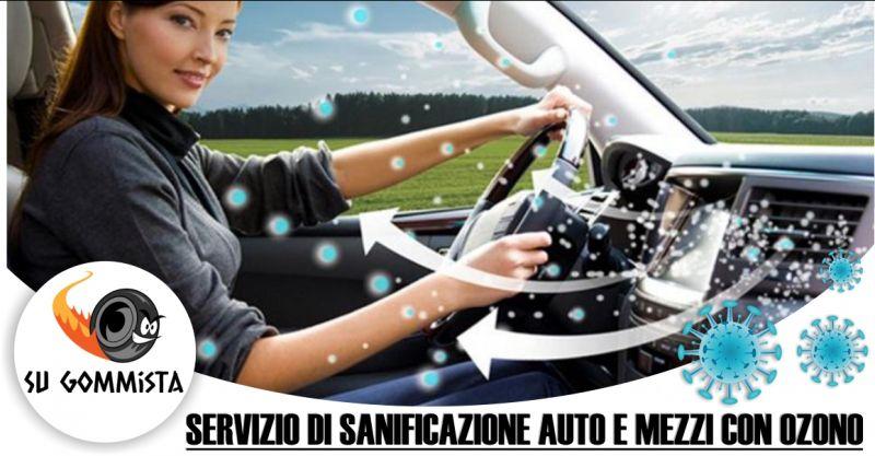 SU GOMMISTA RIOLA SARDO - offerta servizio di sanificazione auto e mezzi con ozono