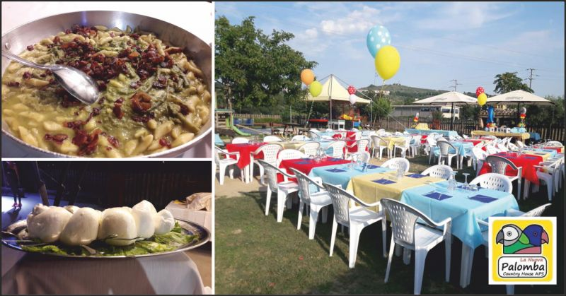 nuova palomba offerta ristorante con giardino - occasione ristorante per cenare all'aperto