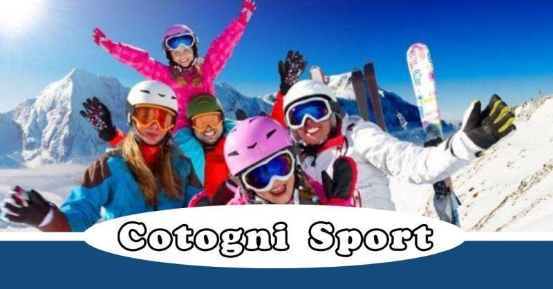 Cotogni Sport offerta noleggio scii - occasione vendita abbigliamento sportivo Terni