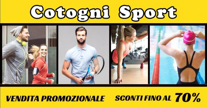 offerta abbigliamento sportivo in sconto Terni - occasione vendita abbigliamento sport Terni