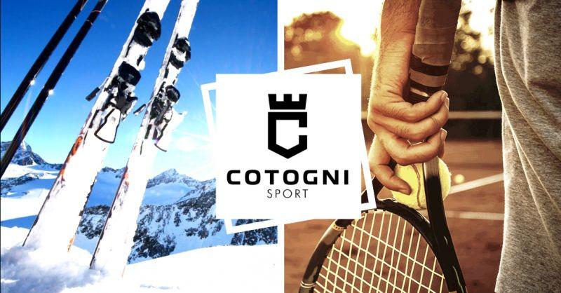 Offerta consulenza personalizzata per acquisto attrezzatura da sci e tennis Terni