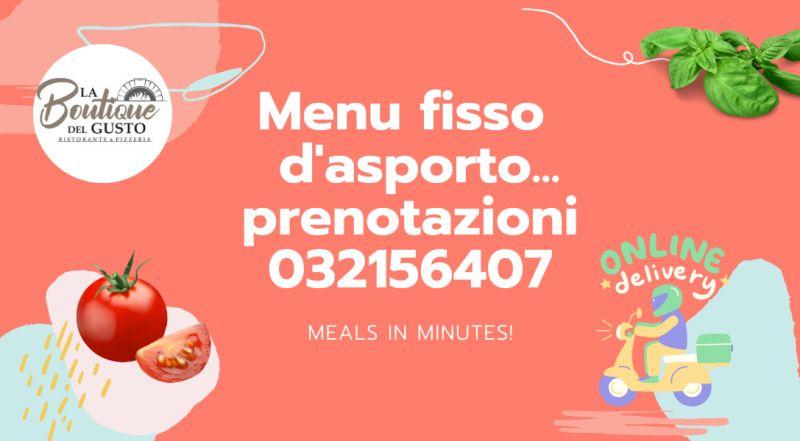 Occasione menù da asporto veloce e sano a Novara – offerta pizza e ristirante con servizio d'asporto a Novara
