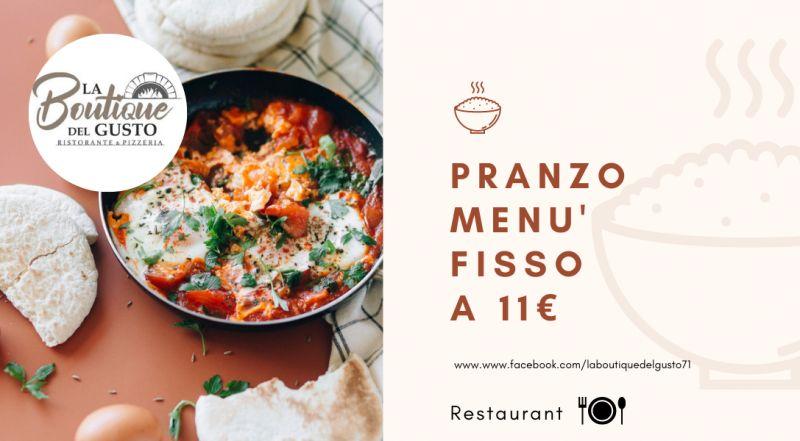 Offerta ristorante con menu fisso a pranzo a poco prezzo a Novara – occasione ristorante e pizzeria con menù da asporto a Novara