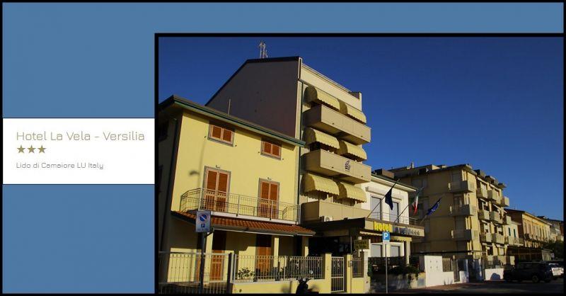 HOTEL LA VELA - Gelegenheit ein Hotel mit Blick auf das Meer in der Versilia Viareggio