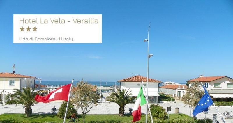 HOTEL LA VELA - opportunité hôtel de nuit face à la mer en Versilia Viareggio