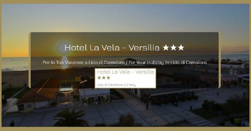 HOTEL LA VELA VERSILIA - Trova la struttura ricettiva più economica direttamente sul lungomare