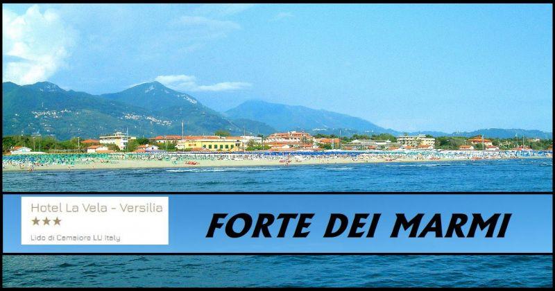 Hotel La Vela - Promozione vacanze in località balneare rinomata Forte dei Marmi Lucca