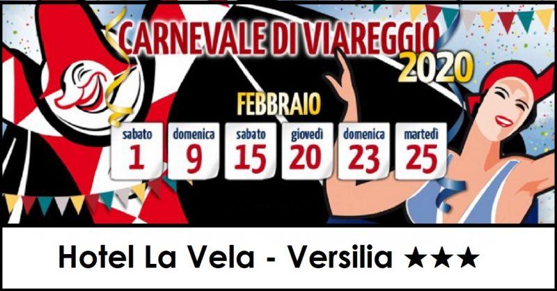 Hotel La Vela di Lido di Camaiore - Occasione dormire vicino al Carnevale di Viareggio 2020
