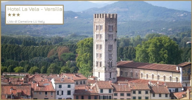 Hotel La Vela - Trova una struttura ricettiva per pernottamento vicino a Lucca città d'arte