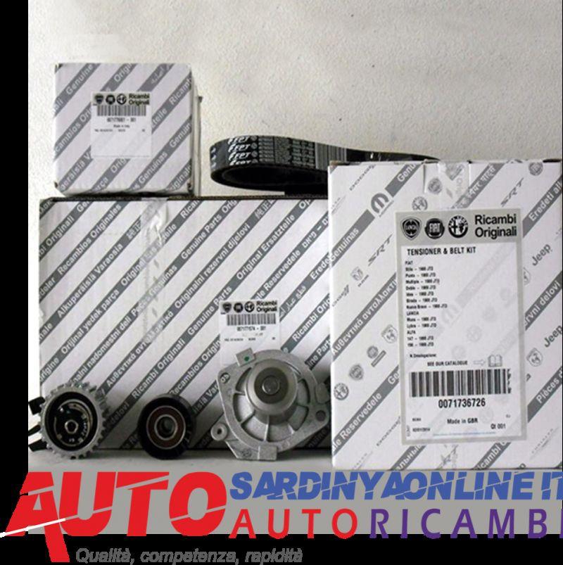 offerta Kit Distribuzione con Pompa Acqua Originale Fiat Lancia Alfa Romeo