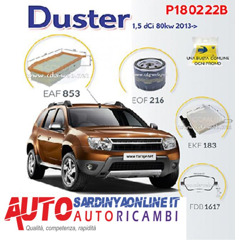 offerta Super Kit  Promo Dacia Duster 1,5 Dci