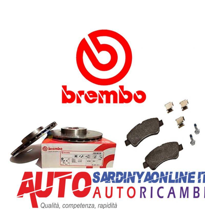 offerta Kit Pastiglie Dischi Freno Anteriore Brembo Citroen e Peugeot