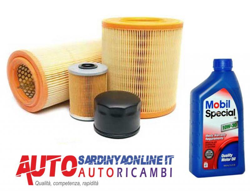 offerta Kit 4 filtri Peugeot 206 1.4 Hdi dal 2001