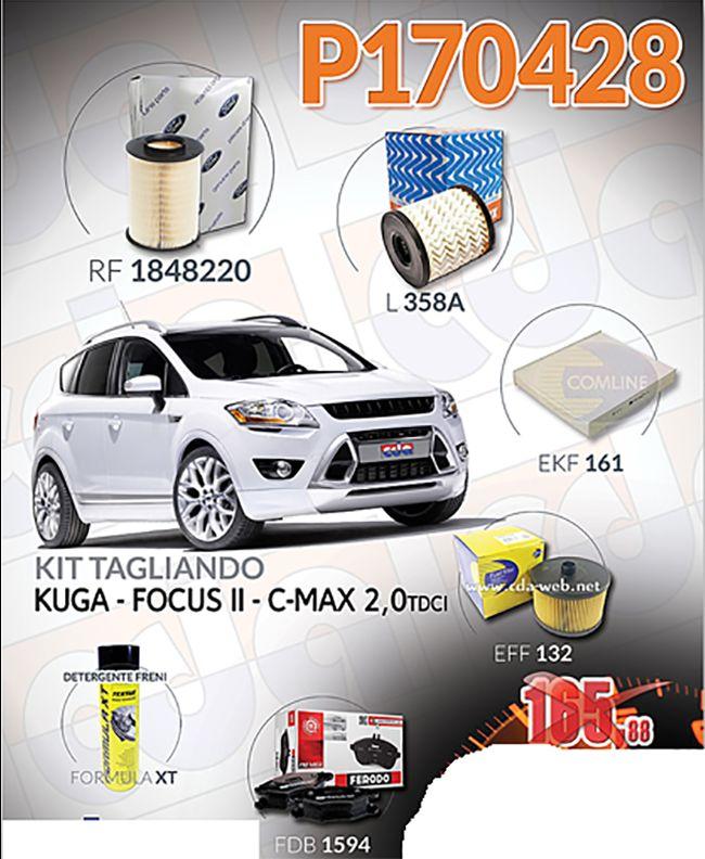 Offerta: Kit Tagliando Kuga - Focus II - C-Max 2.0