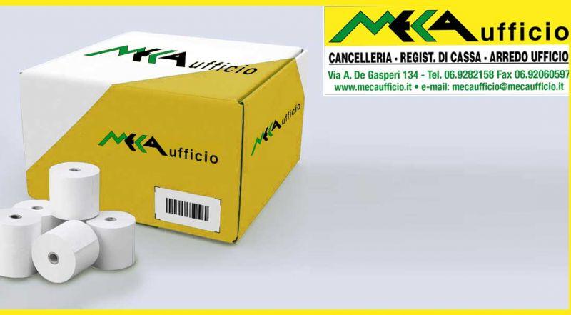 Offerta rotoli di carta per registratori telematici Aprilia - Promozione registratori di cassa Anzio