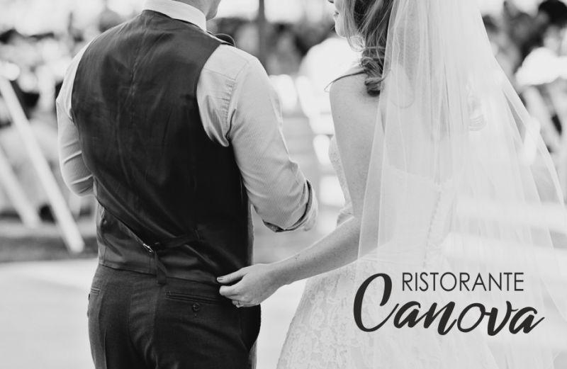 RISTORANTE CANOVA offerta ricevimento nunziale - promozione allestimento personalizzato nozze