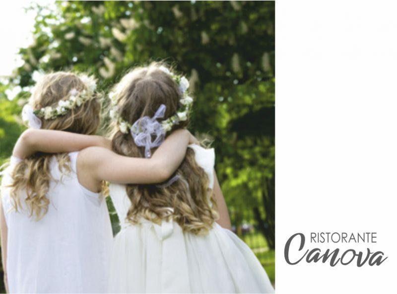 RISTORANTE CANOVA offerta organizzazione battesimo - promozione allestimento cerimonie