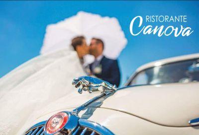 ristorante canova offerta noleggio auto matrimonio promozione autonoleggio sposi compreso