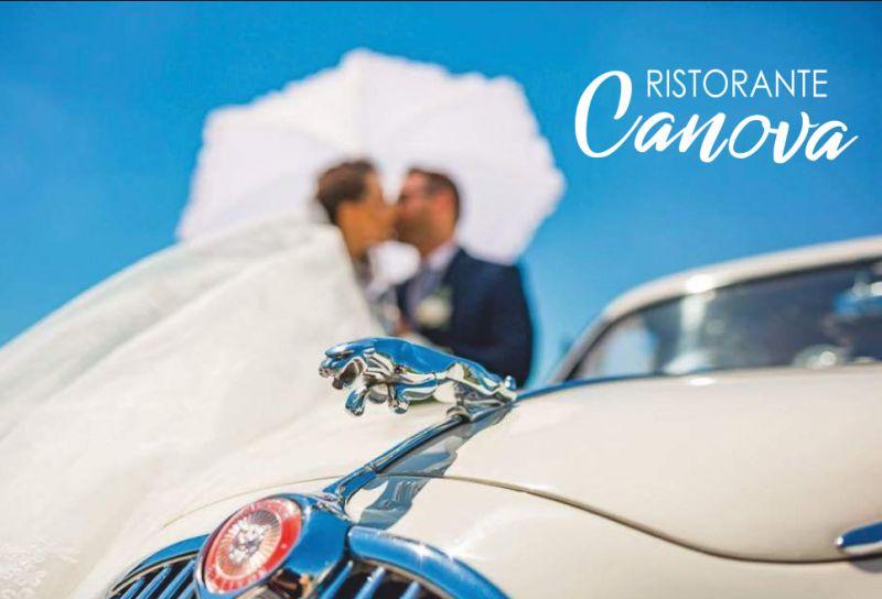 RISTORANTE CANOVA offerta noleggio auto matrimonio - promozione autonoleggio sposi compreso