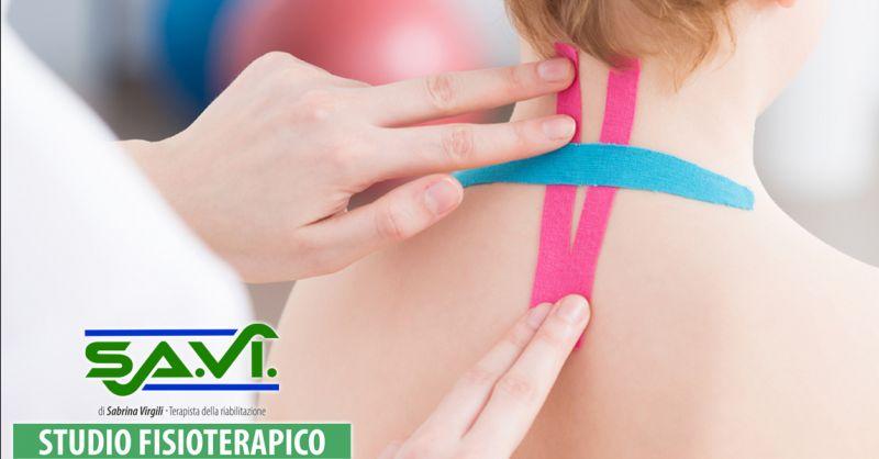 offerta applicazione cerotti taping latina - occasione trattamenti di kinesio taping nettuno