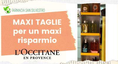 occasione profumi l occitane in promozione maxi tagli l occitane a modena vendita profumi e prodotti naturali a modena