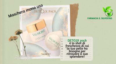 occasione maschera viso monouso detox valmonte in vendita a modena offerta come avere una pelle sana e splendente a modena