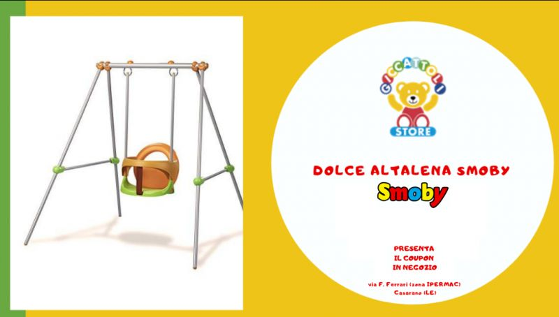 Offerta altalena smoby - occasione dolce altalena smoby lecce - offerta altalena smoby lecce