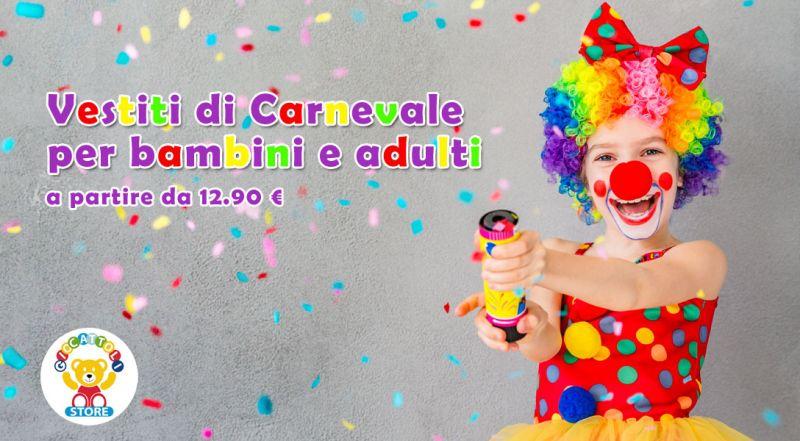 Offerta vestiti di carnevale per bambini Casarano – Promozione vestiti di carnevale per adulti Casarano Lecce