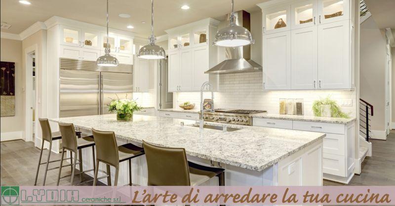 Offerta progettazione cucine in muratura Roma - Occasione realizzazione cucina su misura Roma