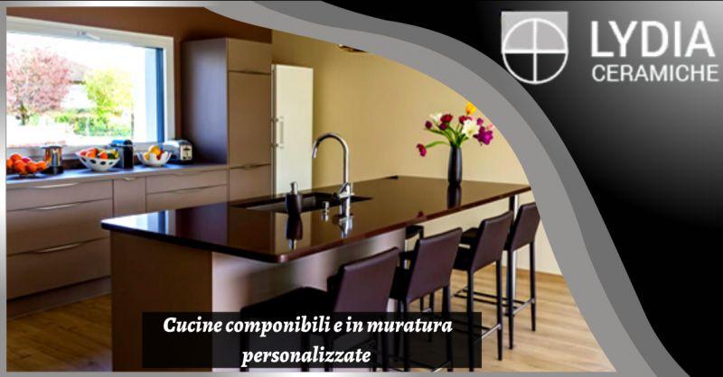 Offerta vendita cucine su misura roma - occasione cucina in muratura casal palocco