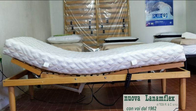 offerta rete elettrica alzata testa e piedi con materasso memory Serravalle Pistoiese