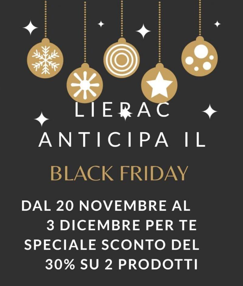 Offerta black friday prodotti Lierac Bologna - Occasione prodotti Lierac promozione black friday Bologna