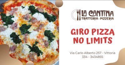 la cantina trattoria pizzeria trova una pizzeria dove fare un giro pizza a vittoria
