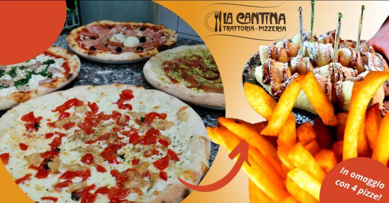 LA CANTINA Offerta pizzeria Vittoria a domicilio - Occasione pizzeria asporto Vittoria