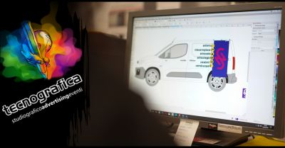 offerta stampe in pvc da applicare ad autoveicoli vicenza occasione scritte adesive furgoni