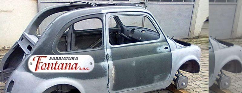 sabbiatura Auto Parma Sabbiatura Auto d epoca parma Sabbiatura moto d epoca parma