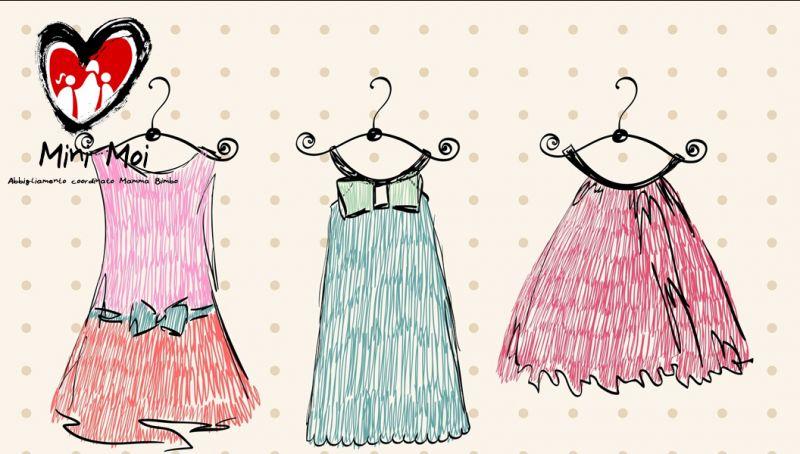 Abbigliamento coordinato fatto mano mamma figlio bari - offerta abbigliamento handmade modugno