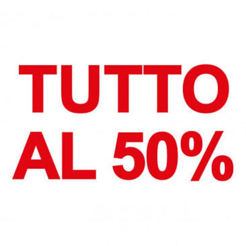APPROFITTA DEGLI ULTIMI GIORNI DI SALDI...TUTTO SCONTATO DEL 50%